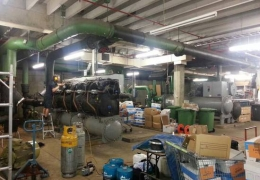 Massive 1000 kW Water Chiller Service